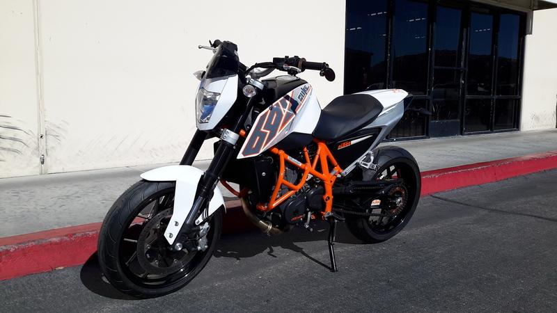 $5,699, 2013 KTM 690 Duke