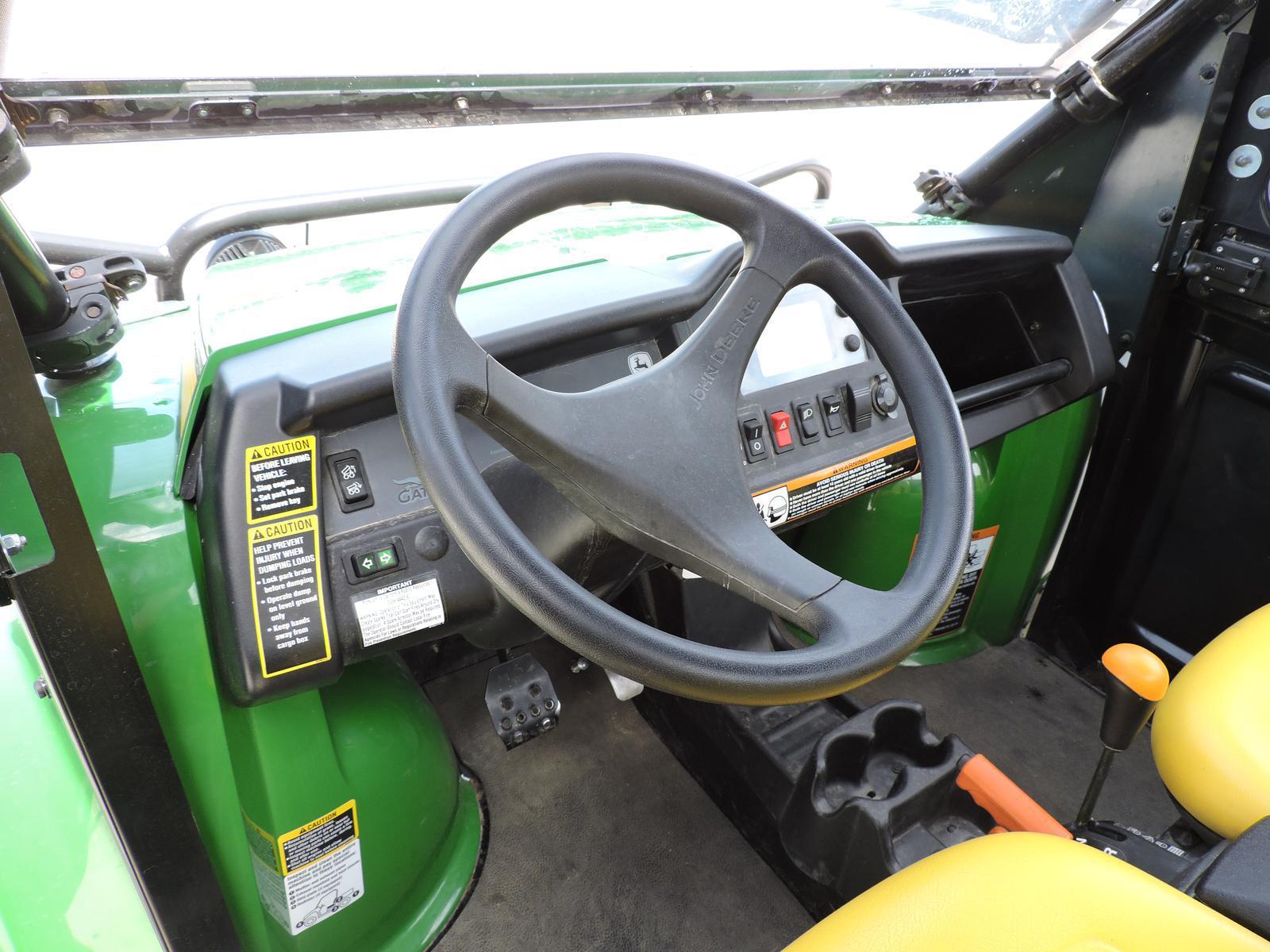 $12,495, 2012 John Deere Gator XUV 825i