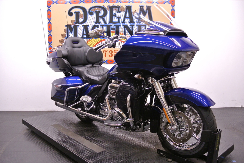 $31,882, 2015 Harley-Davidson FLTRUSE Screamin Eagle CVO Road Glide Ultra 110