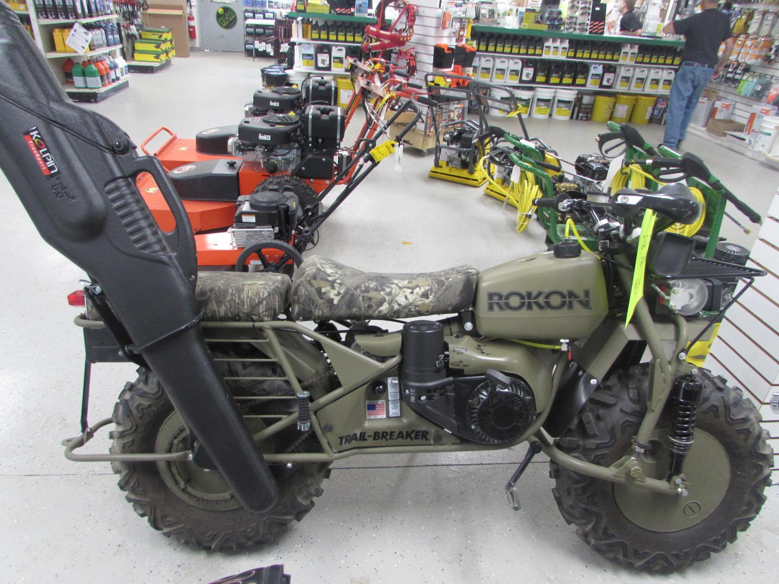 $6,499, 2015 ROKON TRAIL-BREAKER