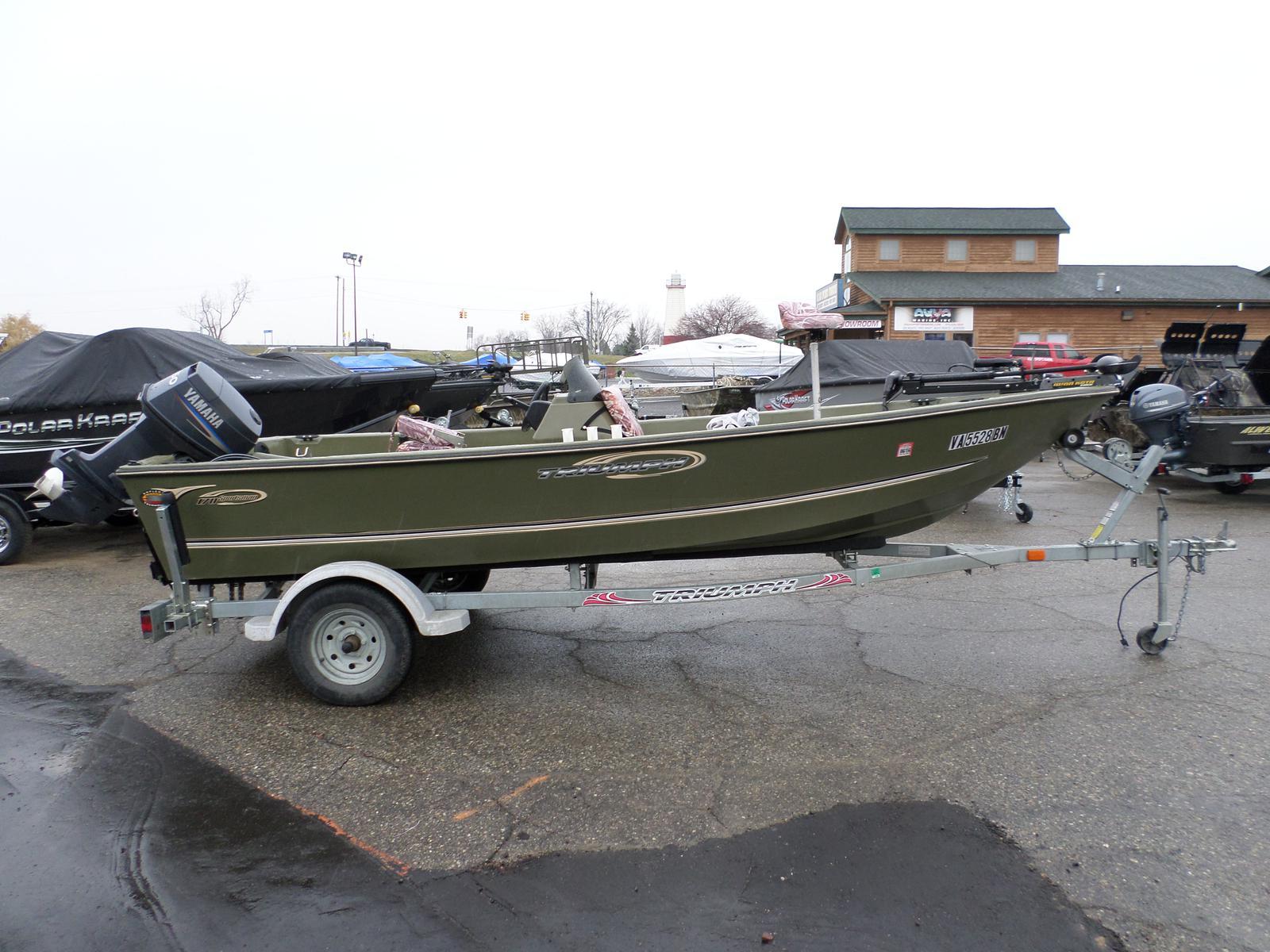 $7,995, 2002 Triumph Boats 170 Sportsman