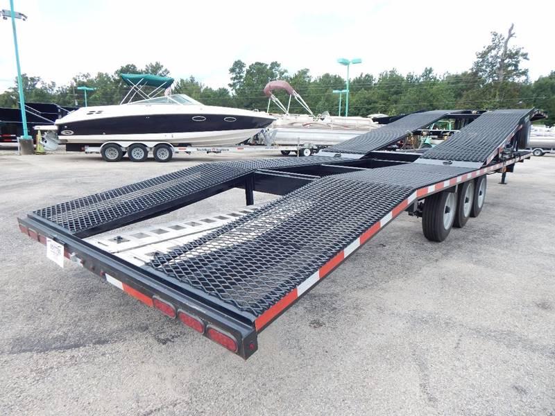 $16,500, 2017 TEXAS PRIDE 4 Car Hauler Triple 9,000lb Axles