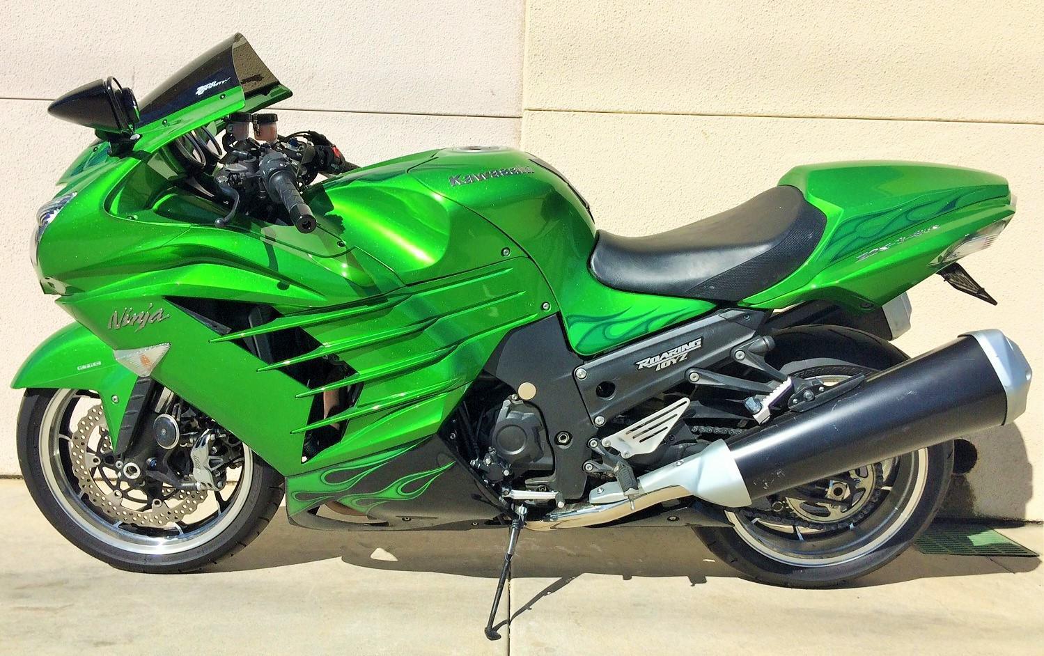 $11,500, 2012 Kawasaki NINJA ZX-14R