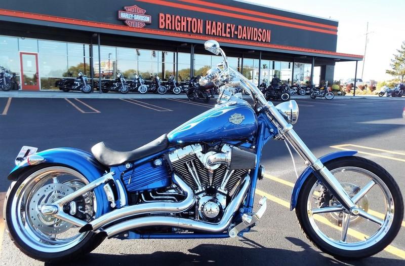 $10,495, 2008 Harley-Davidson FXCWC - Rocker C