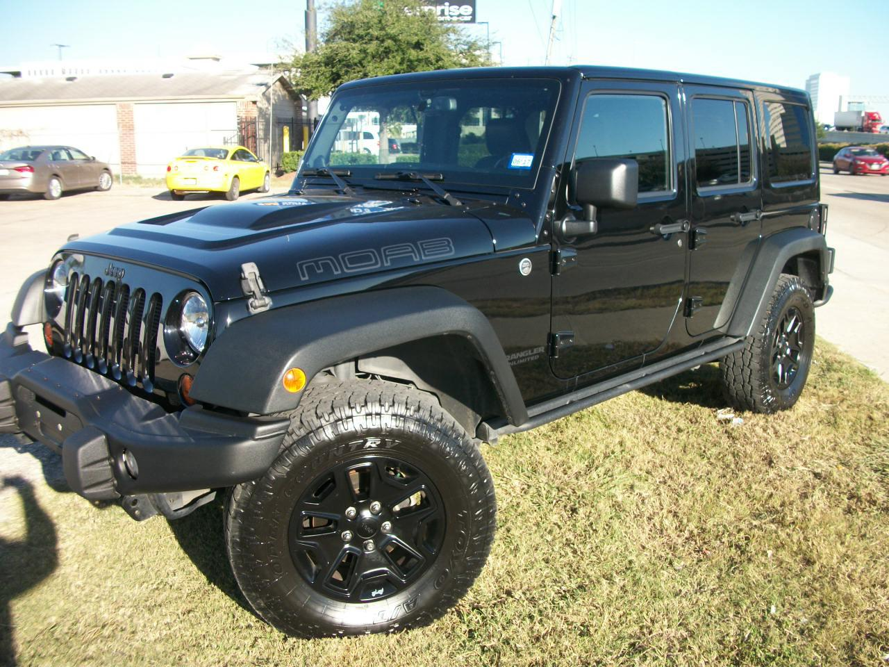 2013 jeep wrandler unlimited moab unlimited sahara sport utility 4 door ebay. Black Bedroom Furniture Sets. Home Design Ideas