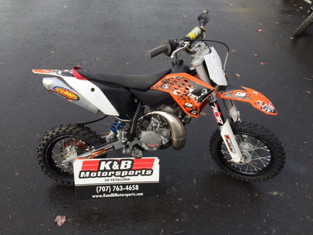 $2,199, 2012 KTM 50 SX