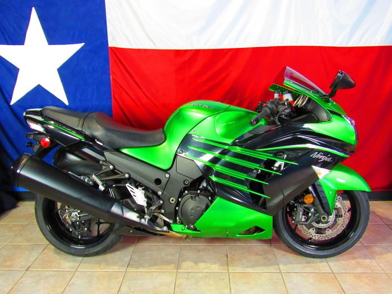 $11,211, 2015 Kawasaki Ninja ZX-14R ABS