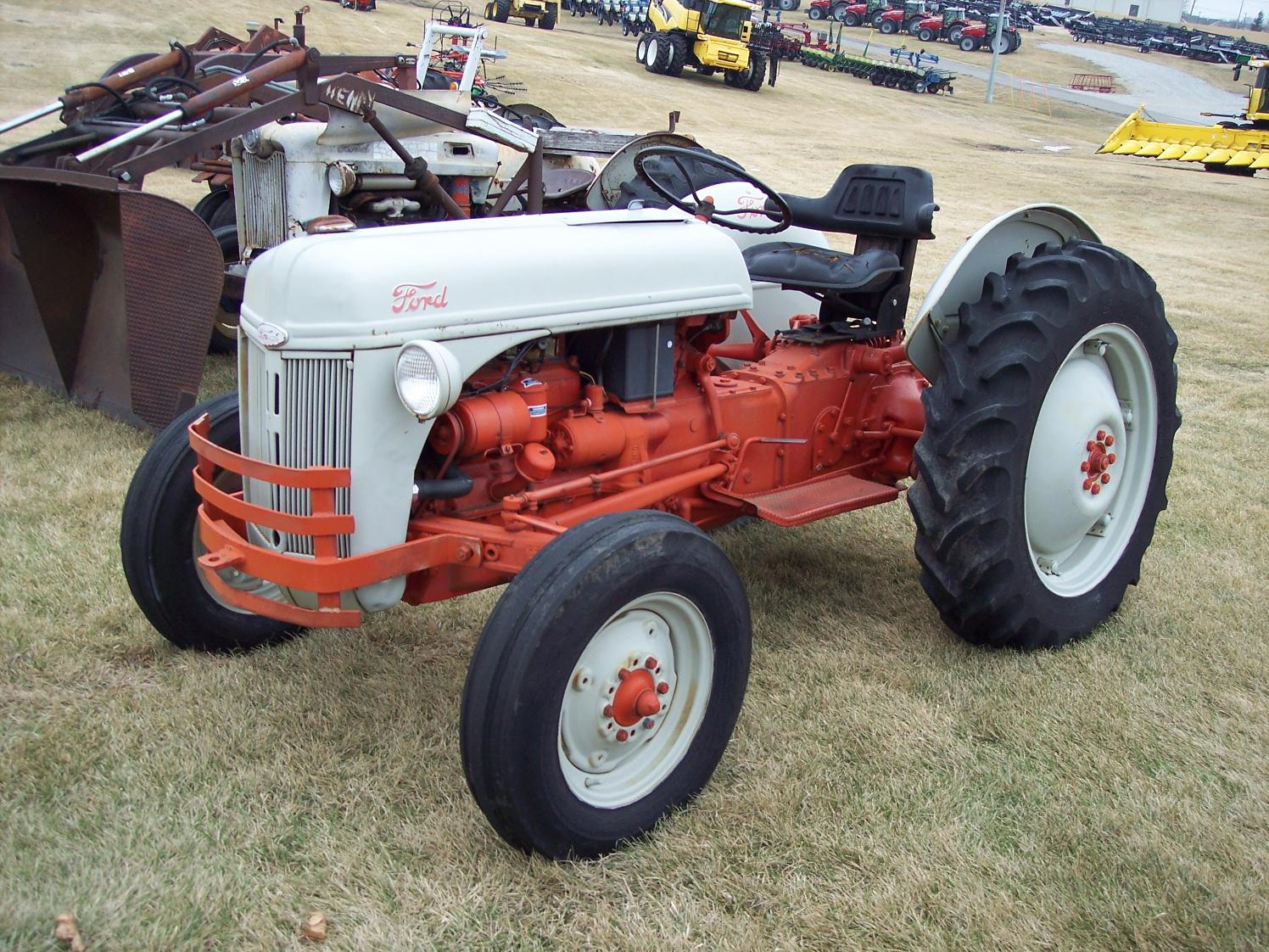 1950 Ford Tractor Tractor Vermilion : Ford n ebay