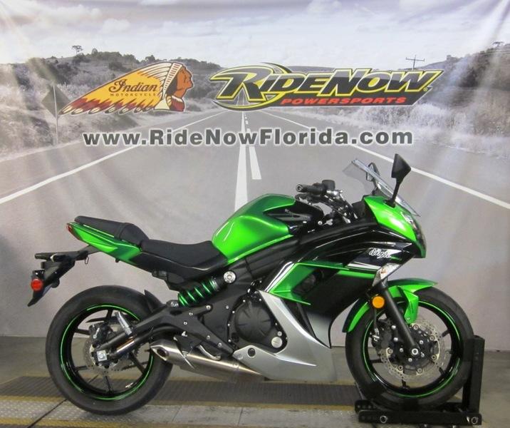 $6,499, 2016 Kawasaki Ninja 650 ABS